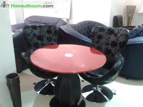 ameublement table basse et table haute alger hanoutkoum. Black Bedroom Furniture Sets. Home Design Ideas