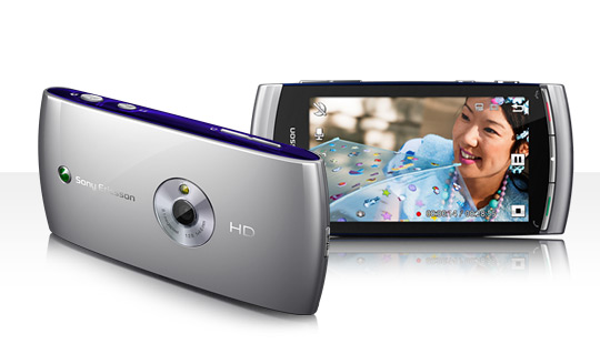 Смартфон Sony Ericsson U5i Vivaz Moon Silver 1233-6090.